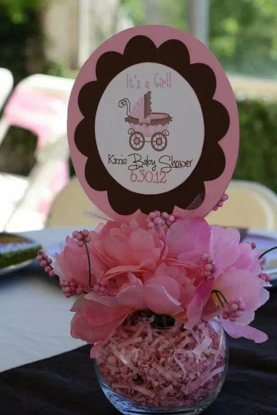 Centros De Mesa Para Baby Shower Nia Originales Baby Shower Favors