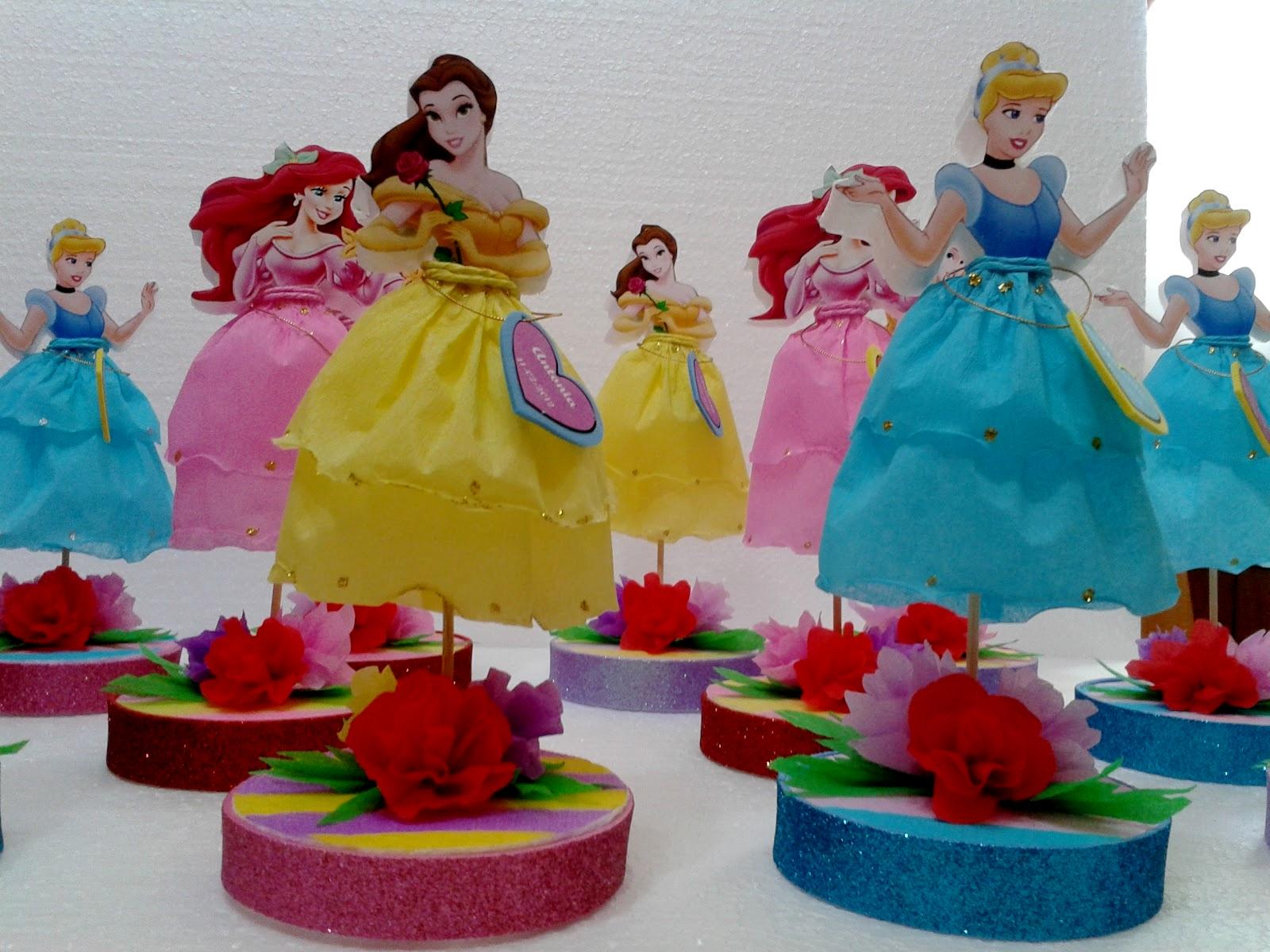 Centros de mesa infantiles con los personajes de disney - Mesas infantiles disney ...
