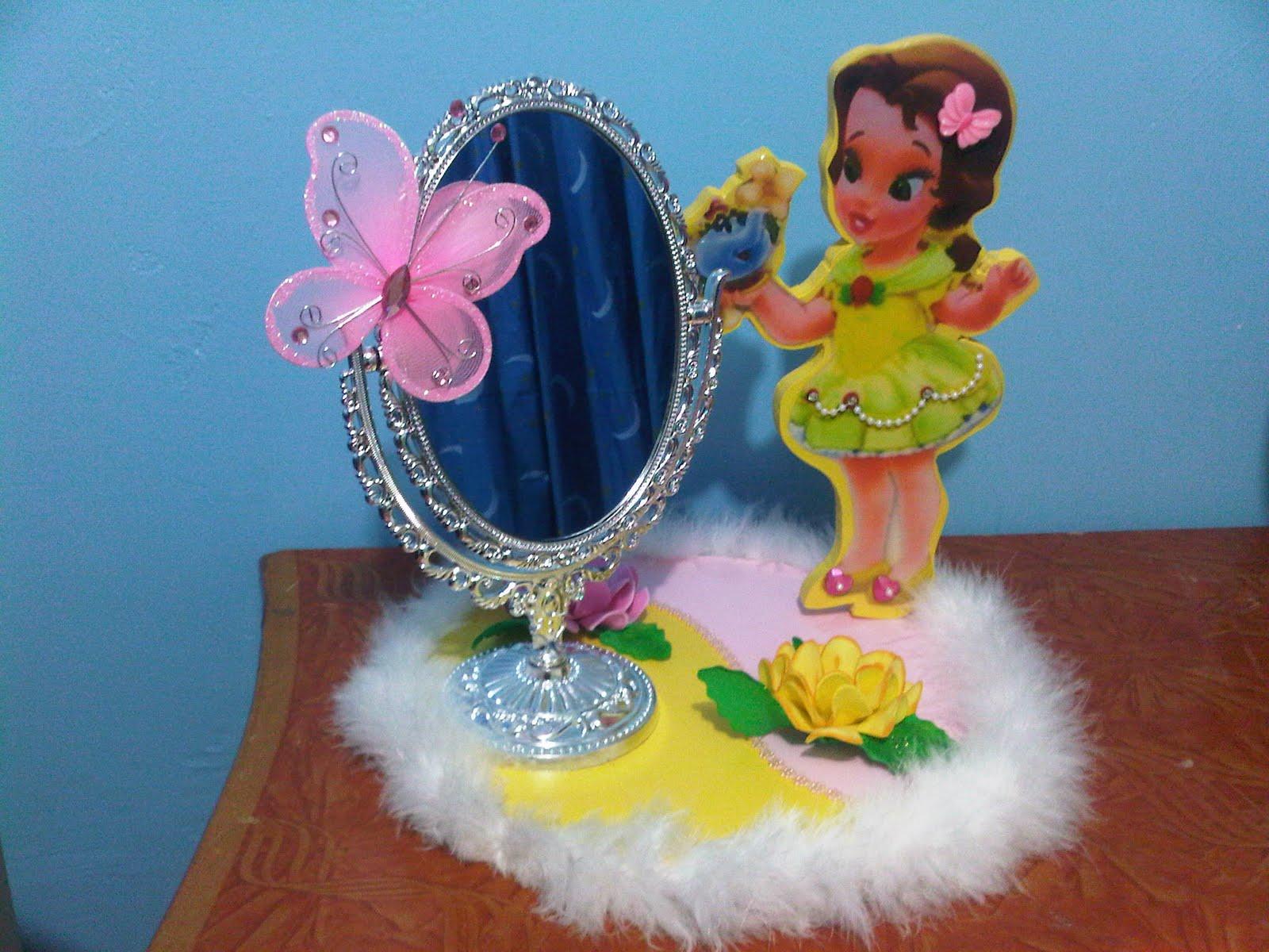 Centros de mesa infantiles de princesas centros de mesa - Fiestas infantiles princesas disney ...