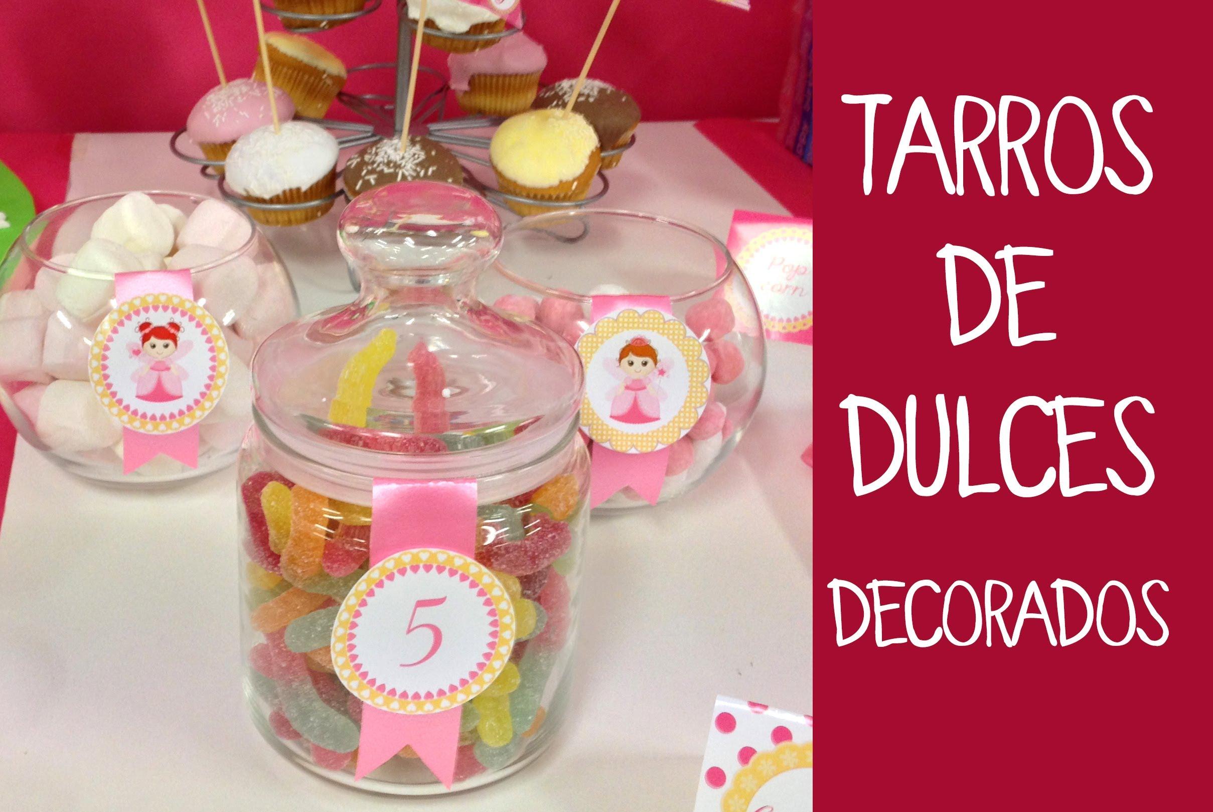 Centros de mesa infantiles con frascos y botellas de - Comprar tarros de cristal pequenos ...