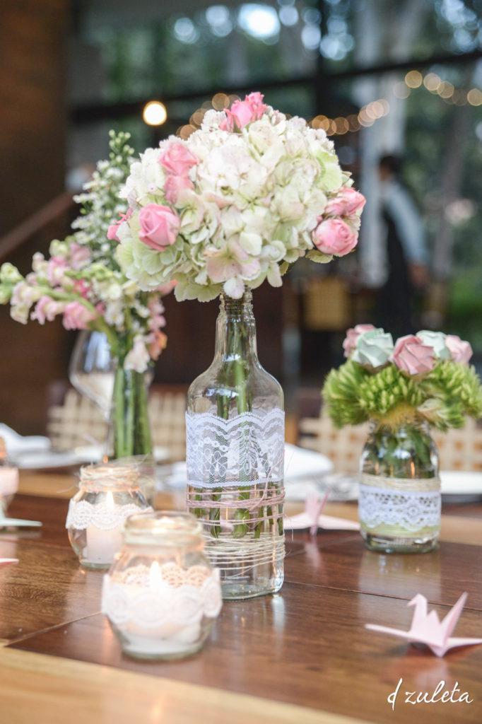 Centros de mesa para boda 135 fotos con dise os increibles - Mesas de centro de colores ...