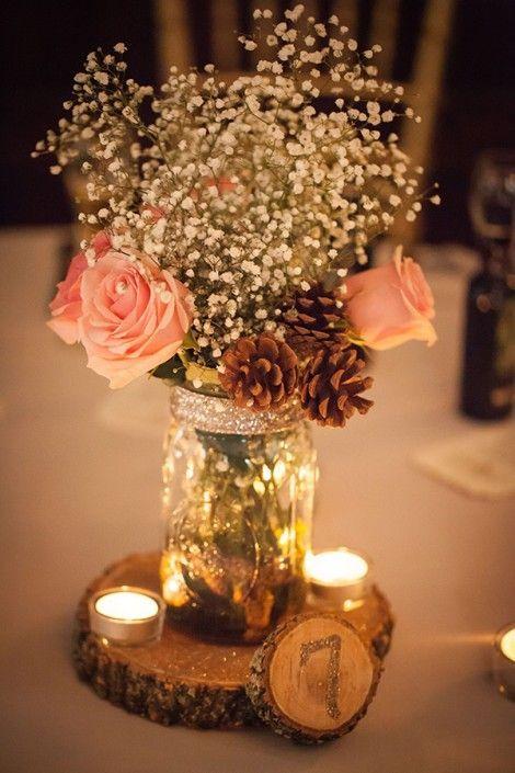 Matrimonio Simbolico Con Velas : Centros de mesa para boda fotos con diseños increibles