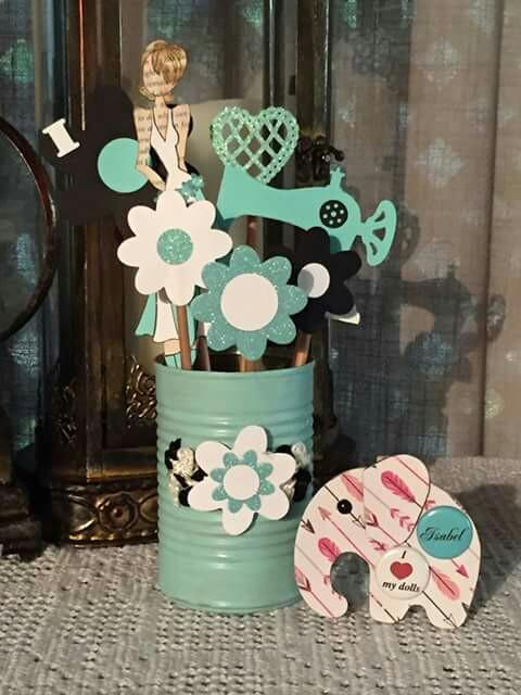 182 centros de mesa navide os con frascos latas pi as - Pinas decoradas para centro de mesa ...