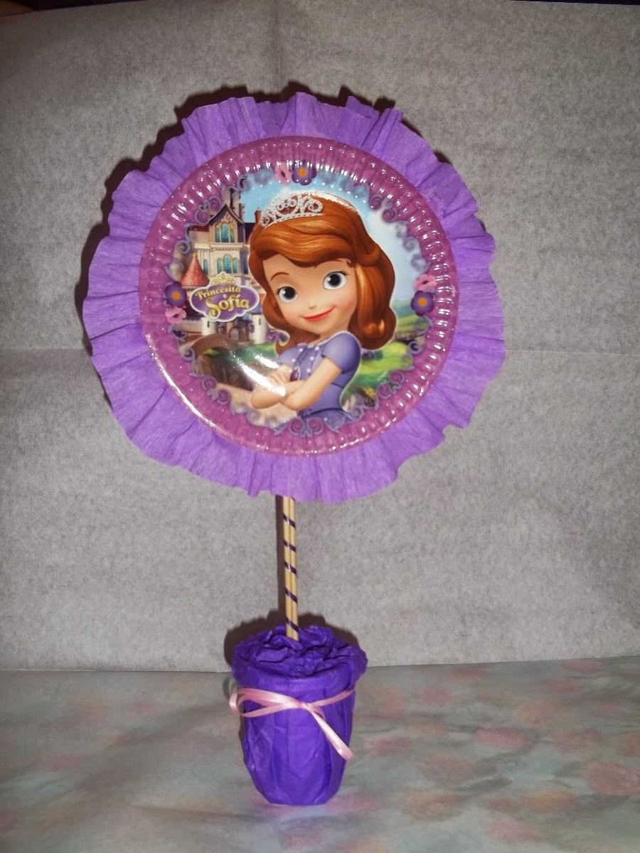 fbc7f1733 Centros de Mesa con los Personajes de Disney + ideas Geniales