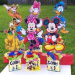 Centros de mesa infantiles con los personajes de Disney