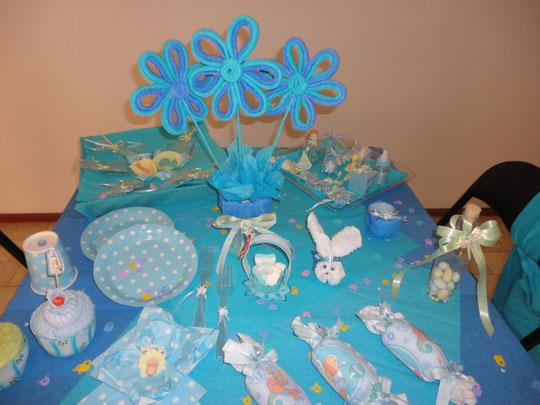 Centros De Mesa Para Baby Shower Modernos Originales Y