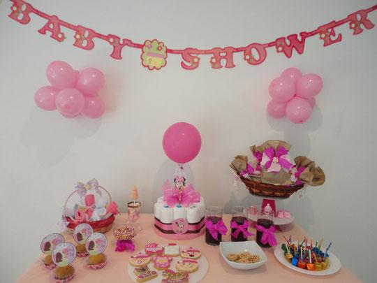 Mesa Baby Shower Nina.Centros De Mesa Para Baby Shower Modernos Originales Y