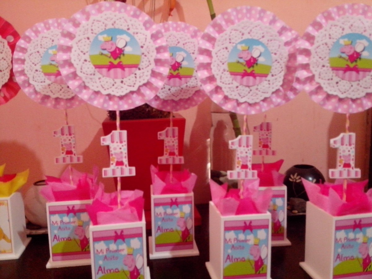 89 centros de mesa para cumplea os y fiestas infantiles - Centro de mesa infantil ...