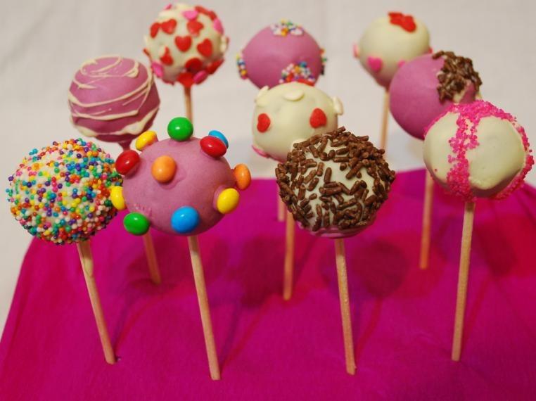 Cake Pop Display Ideas