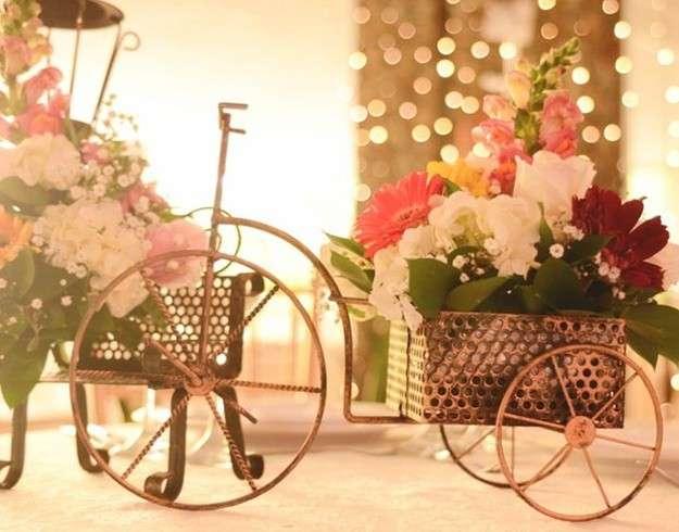 Centros de mesa arreglos adormos y souvenirs para boda - Mesa de centro blanca ...