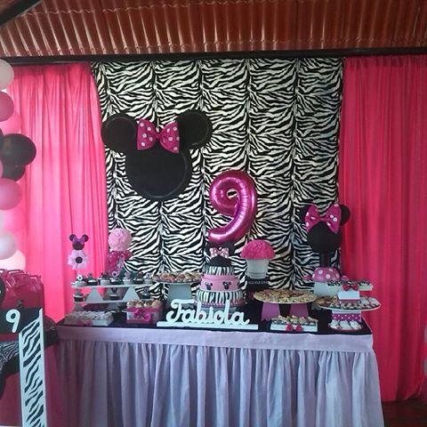 Centros de mesa y decoraci n animal print centros de mesa - Decoracion en cebra ...