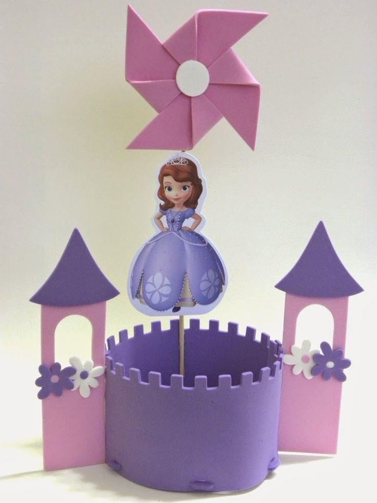 Los Mejores Centros de Mesa de PRINCESAS para Fiestas Infantiles
