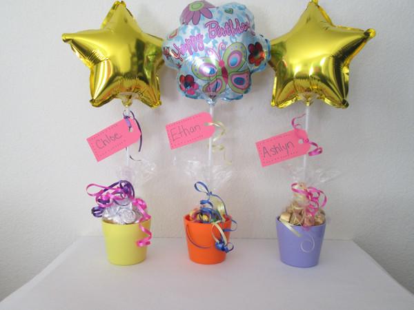 Los mejores centros de mesa de princesas para fiestas - Centros de mesa con globos ...