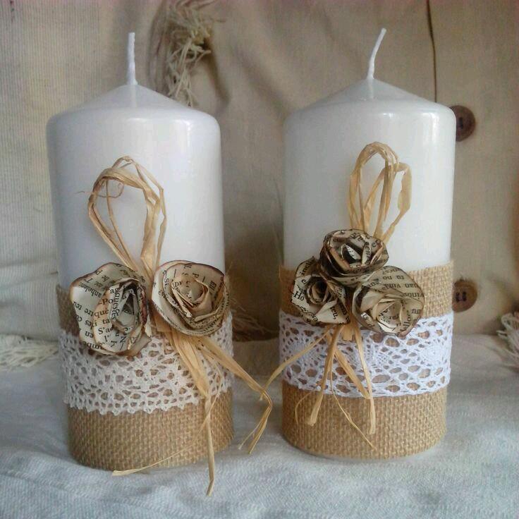 Centros de mesa arreglos y decoraci n para bautizo - Decorar macetas con arpillera ...