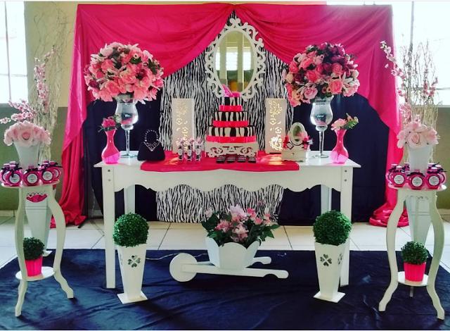 Centros de mesa y decoraci n animal print for Decoracion cebra