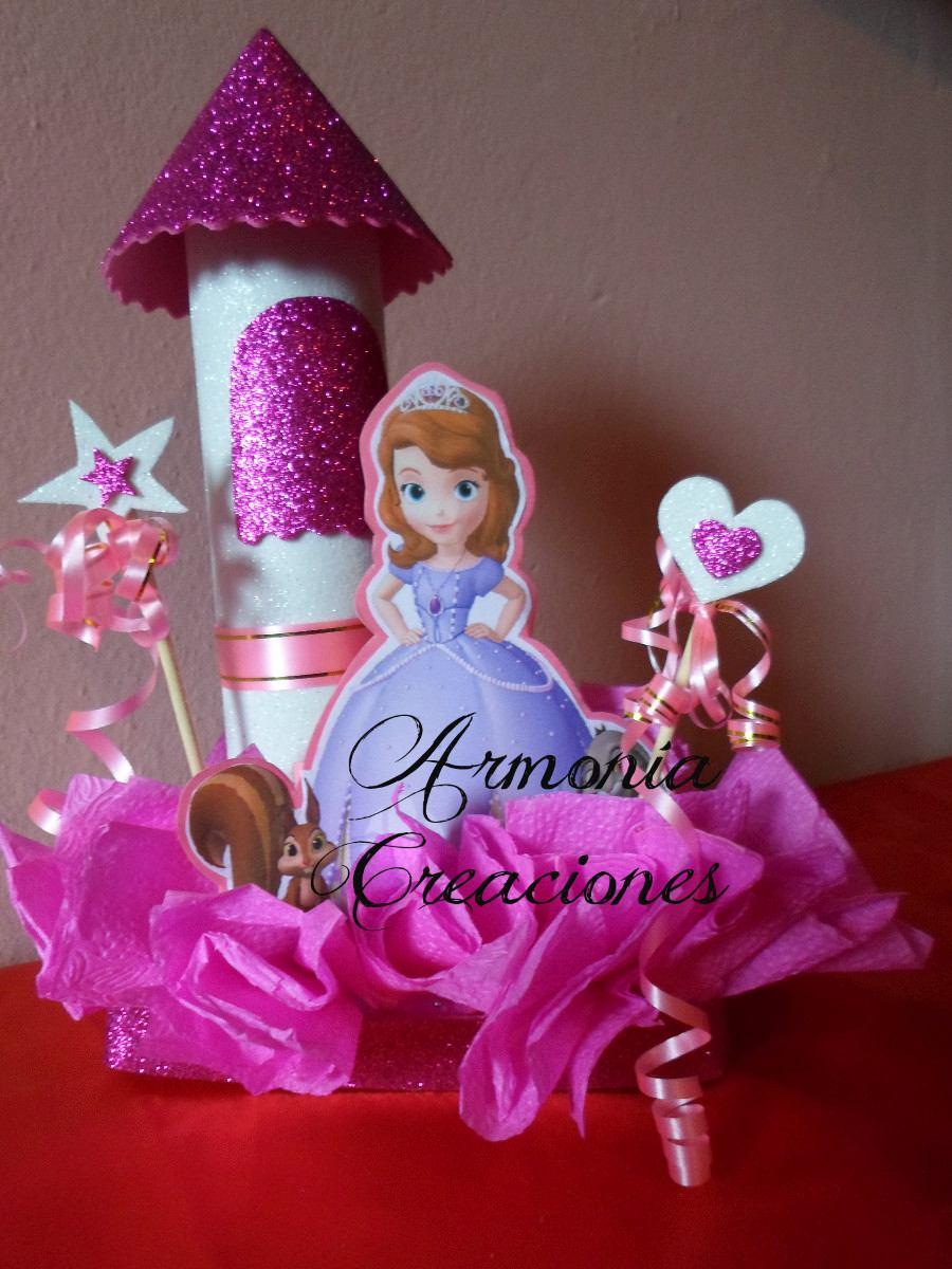 36f00a6da Más ideas de un centro de mesa de la pequeña princesa sofía El castillo no  le puede faltar a un princesa ...