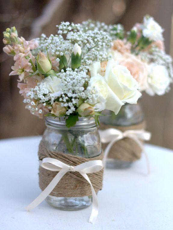 Centros de mesa para boda 2018 sencillos elegantes y bonitos altavistaventures Image collections