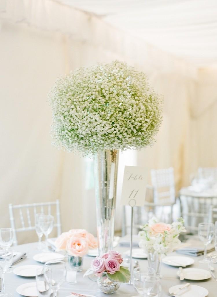 Centros de mesa para boda 2018 sencillos y elegantes for Mesas de centro pequenas