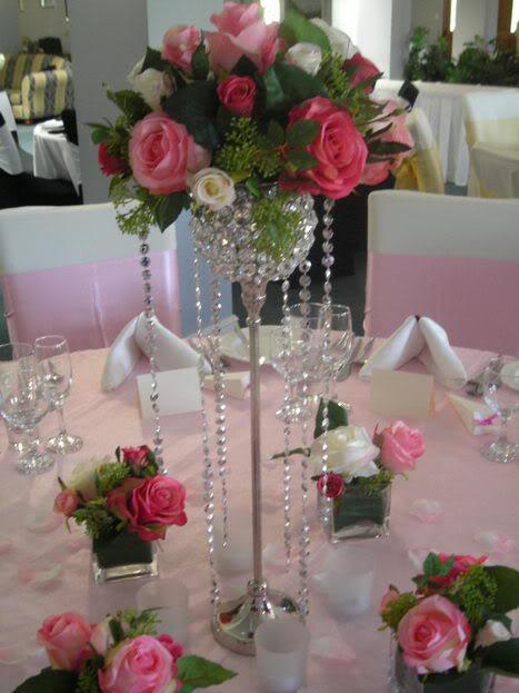 Centros de mesa decoraci n y arreglos para fiestas 2018 - Espejos de mesa baratos ...