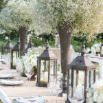 Centros de mesa para Boda 2018 sencillos y elegantes