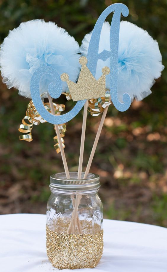 Centros de mesa infantiles con frascos y botellas de vidrio - Como reciclar para decorar ...