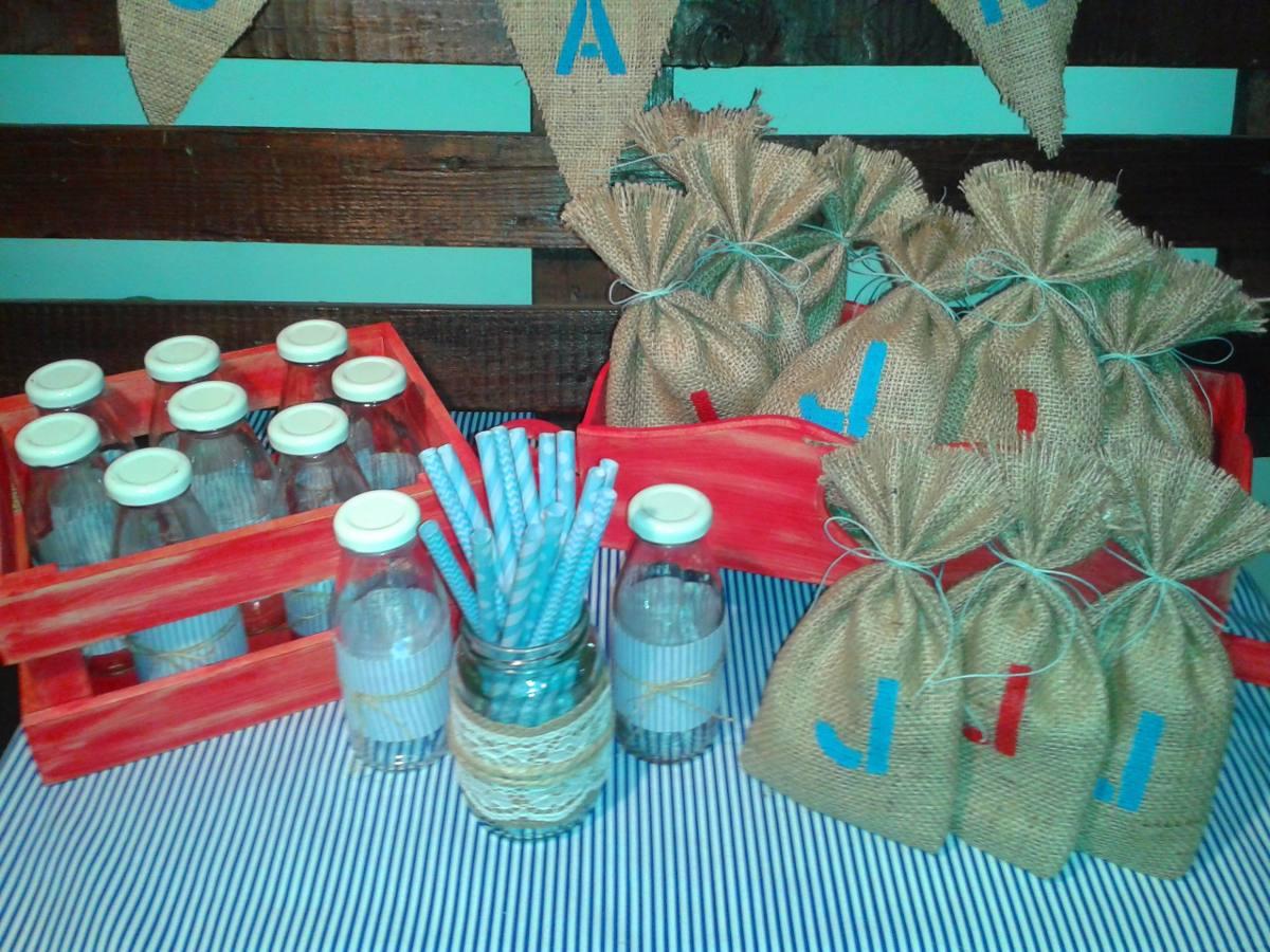 Centros De Mesa Infantiles Con Frascos Y Botellas De Vidrio