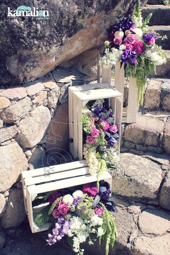 Arreglos florales vintage para bodas y 15 a os - Decoracion de bodas vintage ...