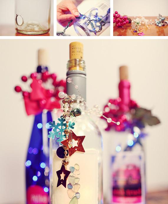 Centros de mesa infantiles con frascos y botellas de vidrio - Decoracion cumpleanos infantiles manualidades ...