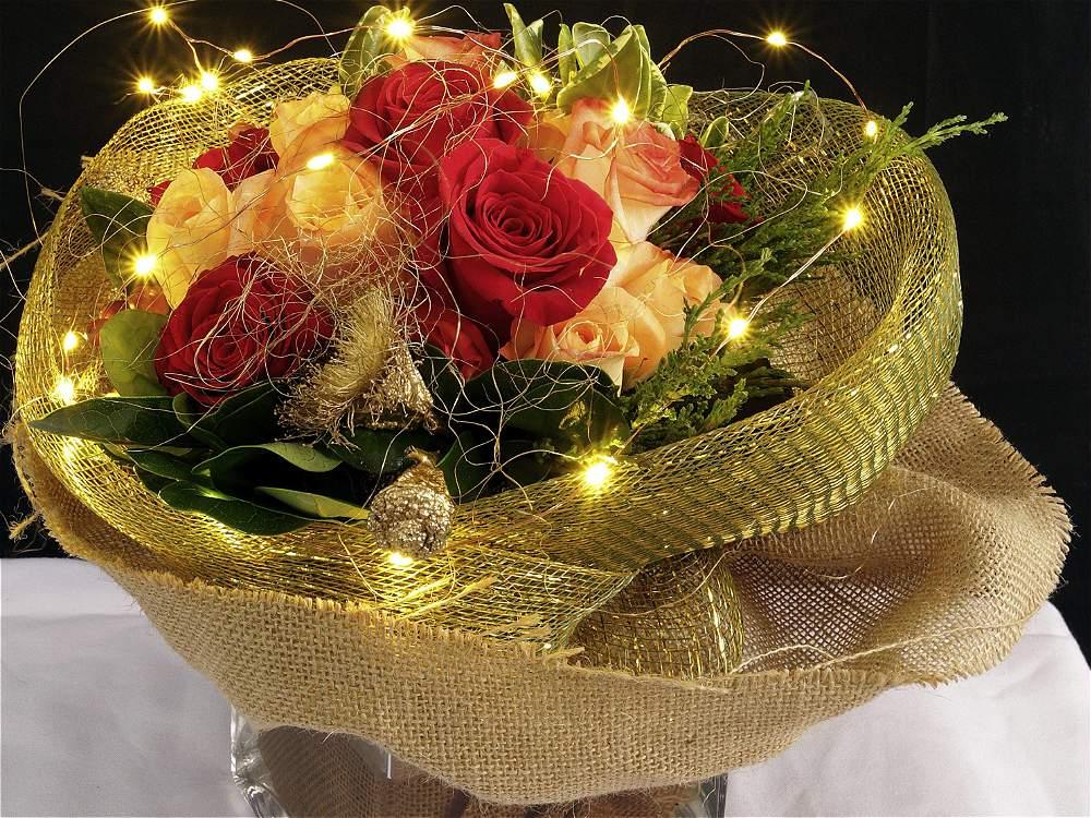 Arreglos para mesa navide os 2017 2018 centros de mesa - Centros florales navidenos ...