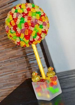 Centros De Mesa Con Dulces Para Fiestas Infantiles