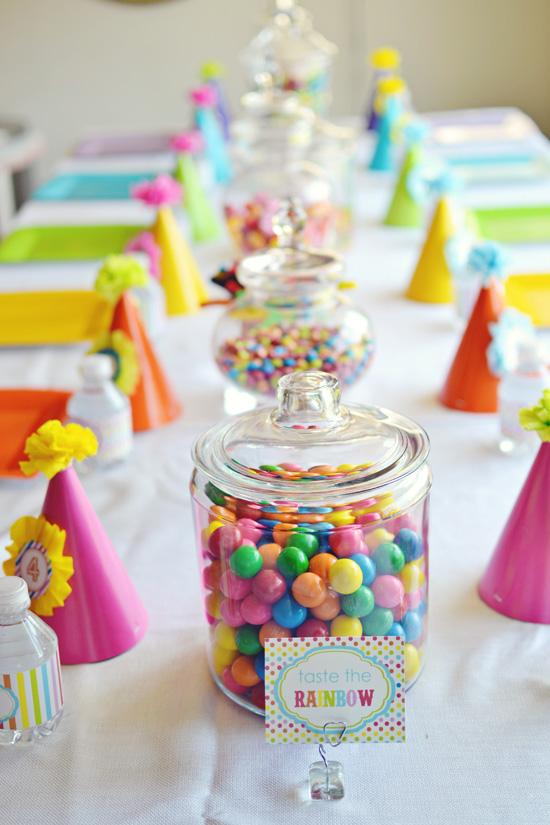 Centros De Mesa Con Dulces Para Fiestas Infantiles - Decoracion-mesas-fiestas