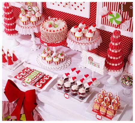 Centros de mesa con dulces para fiestas infantiles for Mesa de dulces para 15