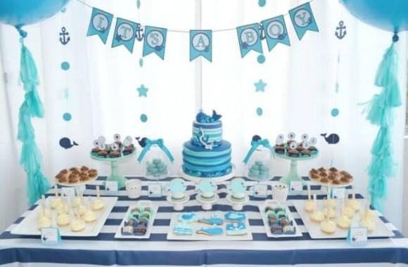 Ideas Decorativas Para Baby Shower.Arreglos Para Baby Shower De Nino Y Nina Ideas Increibles
