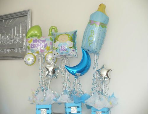 Marvelous Arreglos De Baby Shower Con Globos