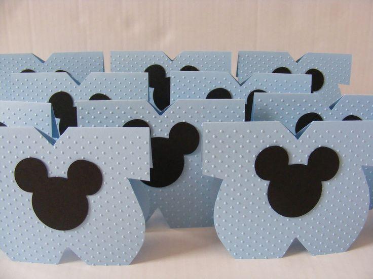 Arreglos De Baby Shower Con Minnie Y Mickey