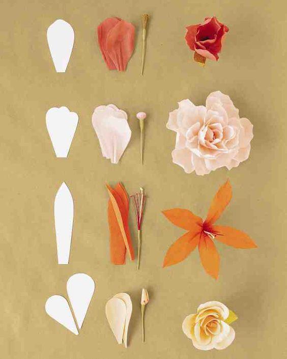 Cómo Hacer Flores De Papel 2019tutoriales Con Fotos Paso A