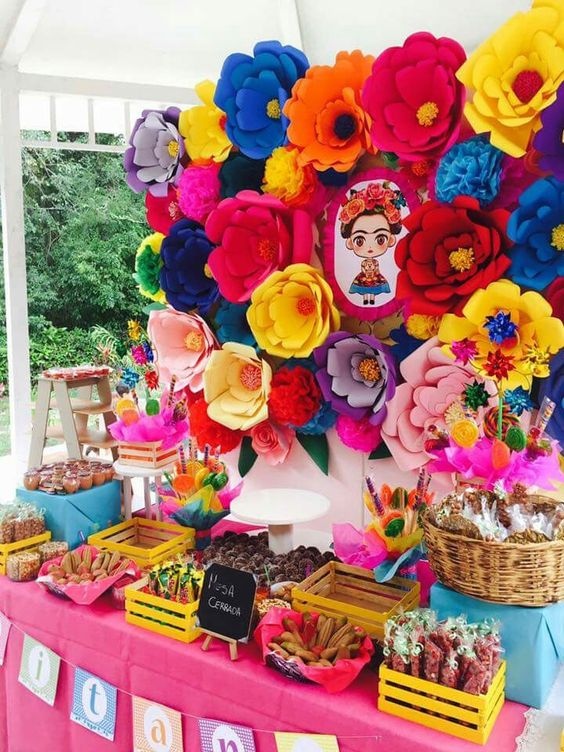 Decoracion Y Adornos Para Fiestas Mexicanas Ideas Originales 2019