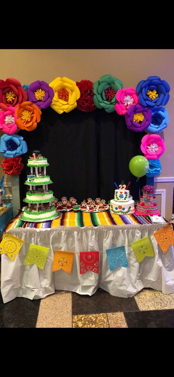 Decoración Y Adornos Para Fiestas Mexicanas Ideas