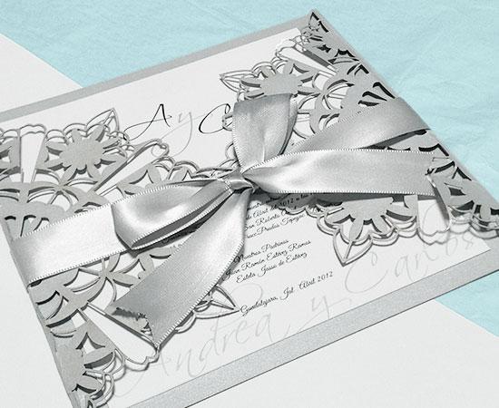 Invitaciones Para Bodas De Plata