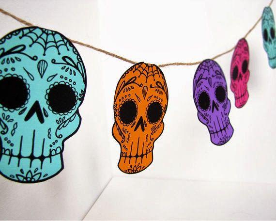 Decoración Para Día De Muertos Ideas Adornos Manualidades Para