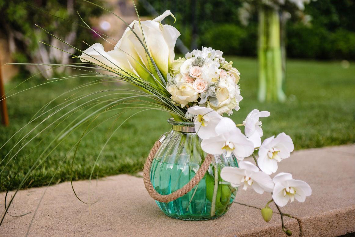 Decoración Y Arreglos Florales Para Boda Con Calas O Lirios