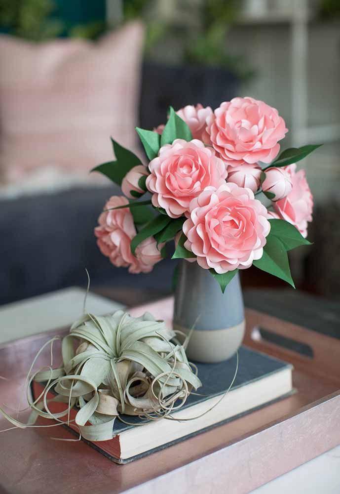 Centros De Mesa Con Flores De Papel Espectaculares