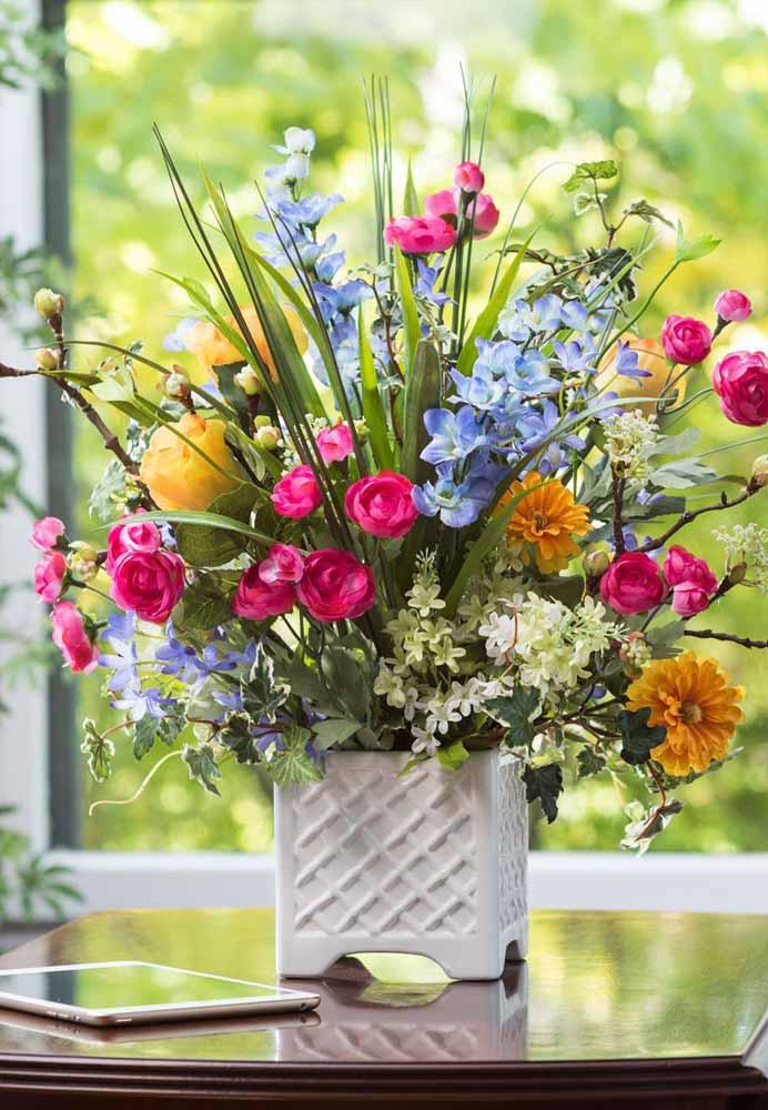 Arreglos Y Centros De Mesa Con Flores Artificiales Más De 90