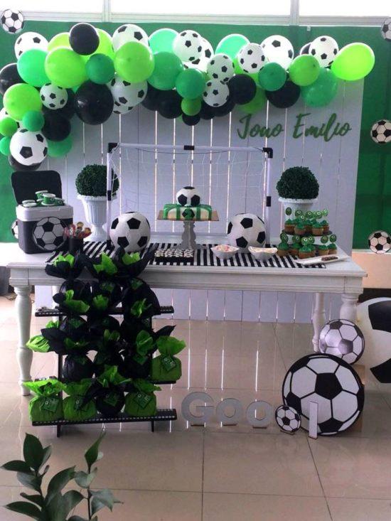 Decoracion De Futbol Para Cumpleanos De Ninos