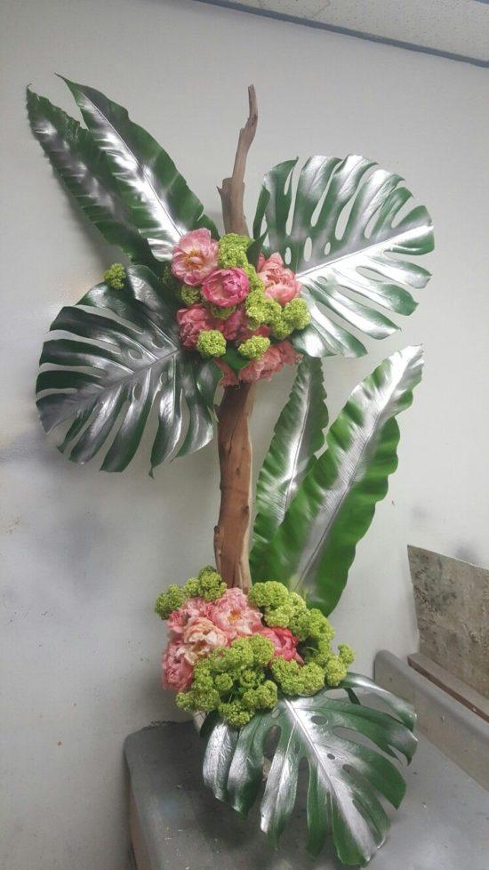 Arreglos Florales Tropicales Centros De Mesa Con Frutas