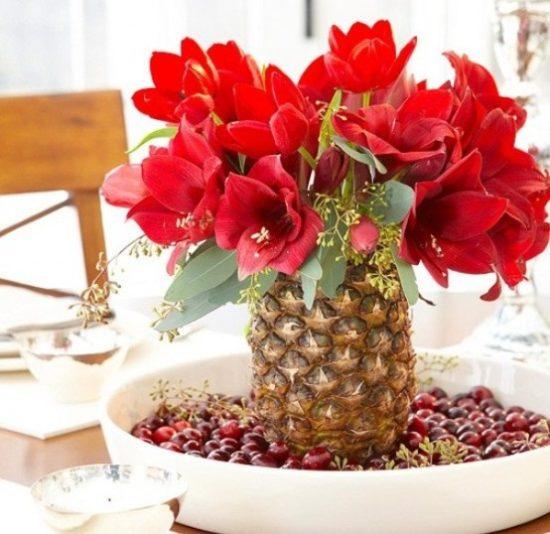 Centros De Mesa Con Frutas Y Arreglos Frutales - Centros-de-mesa-de-frutas