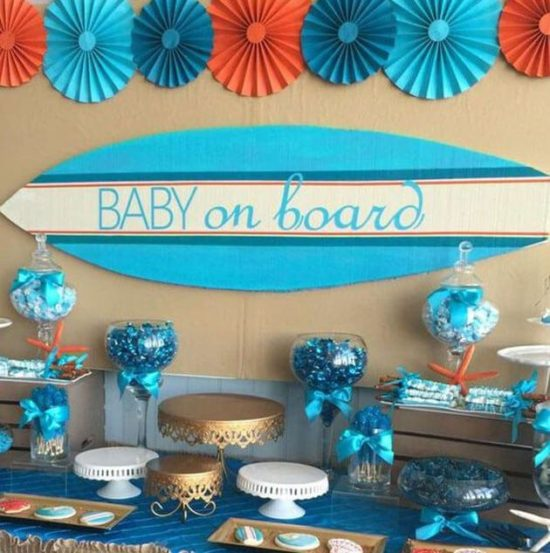 Decoracion Para Fiesta De Baby Shower.Centros De Mesa Arreglos Y Decoracion Para Baby Shower