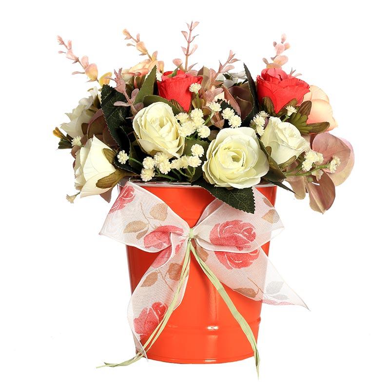 Centros de mesa con flores artificiales c mo hacerlos - Centro de mesa con flores artificiales ...