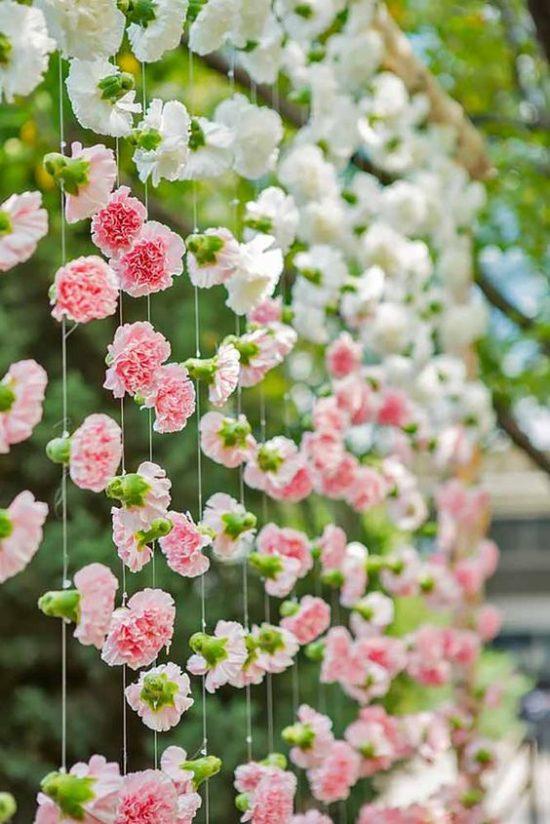 Centros De Mesa Arreglos Florales Y Decoración Con Claveles