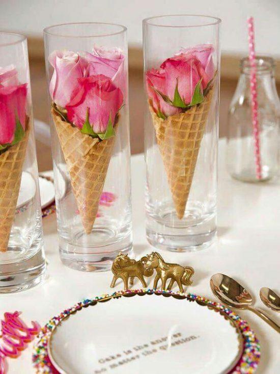 Arreglos Y Decoración Con Rosas Para Bodas